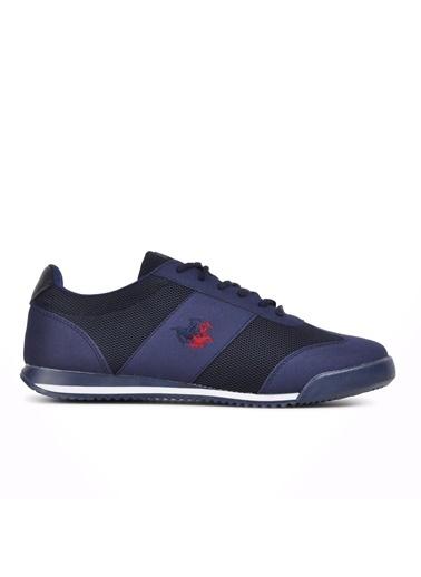 Walkway Tenerife Siyah-Krep Erkek Spor Ayakkabı Lacivert